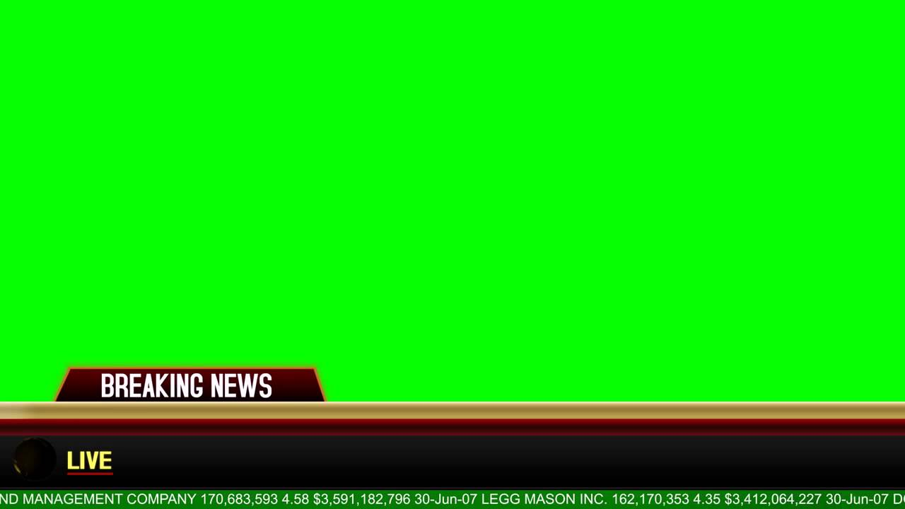 breaking news banner green screen download youtube. Black Bedroom Furniture Sets. Home Design Ideas