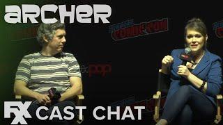 Archer | Season 10: Rock Creature Pam Cast Chat | FXX