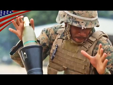 U.S.-U.K.-Japan 81mm Mortars (L16 & M252) Live Fire - 日米英の81mm迫撃砲 (L16 & M252) 実弾射撃