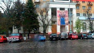 Икона Оранты теперь на здании гостиницы