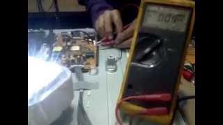 PROBADOR FUENTE LED BACKLIGHT CASERO CON TV LG 32LB550B/TESTER SOURCE BACKLIGHT LED TV HOME