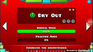 Spectral completes GEOMETRY DASH Dry out with one attemp
