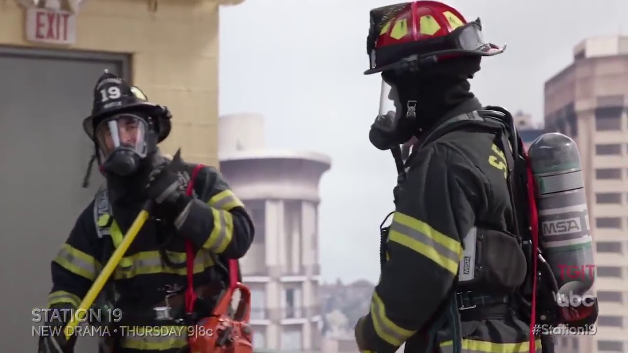 Download Station 19 ABC 1x03 Sneak Peek  Contain the Flame