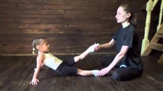 Гимнастика для детей 3 х лет. Индивидуальный урок