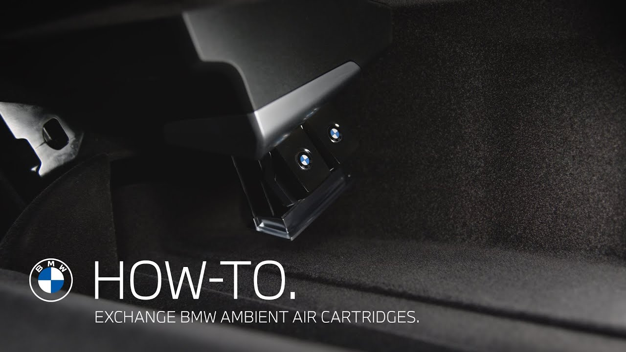 Exchange BMW Ambient Air Cartridges | BMW How-To
