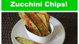 Zucchini Chips! *recipe*