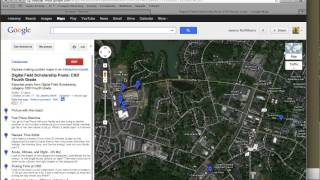 Using a DFS KML export file to create a Google Map Free HD Video