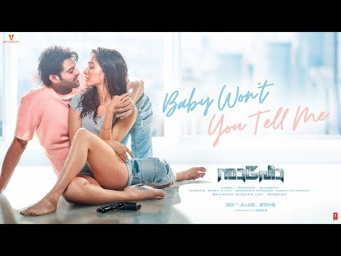 Baby Won't You Tell Me Song  | Saaho  | Prabhas, Shraddha |  Shankar Mahadevan