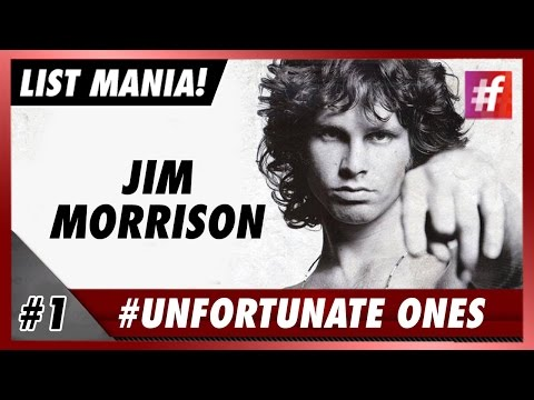 #fame hollywood - Jim Morrisson - 5 Most Tragic Celeb Stories in History