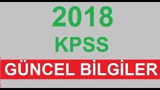 2019 KPSS Karışık Güncel Bilgiler - B