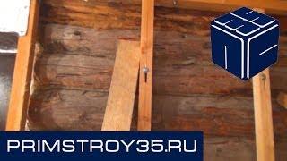 Баня - Устройство плавающего каркаса(http://www.primstroy35.ru В этом видео мы расскажем как грамотно смонтировать плавающий каркас Ссылка на ролик: http://www.yo..., 2014-06-15T21:02:39.000Z)