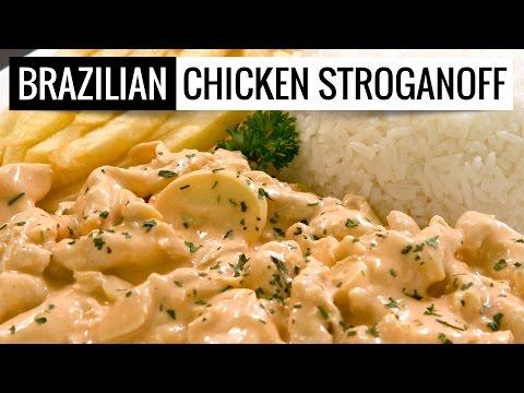 Chichen Stroganoff Brazilian Style - Strogonoff de Frango Brasileiro