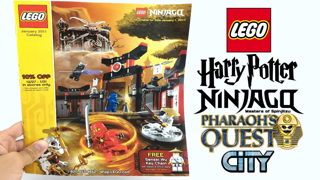 LEGO Janaury 2011 Catalog - A trip down memory lane!