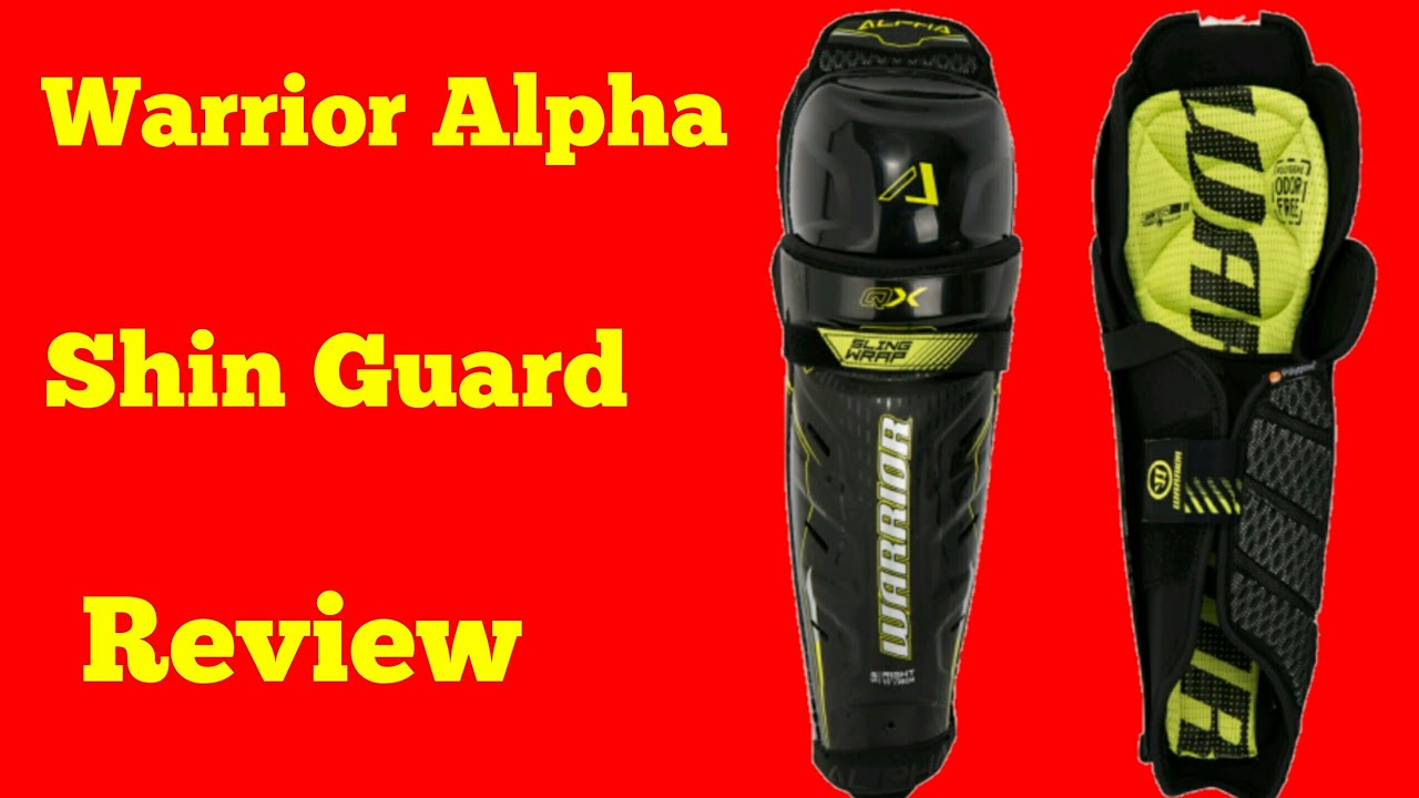 a81d1171b54 Warrior Alpha QX Shin Guard Review - YouTube