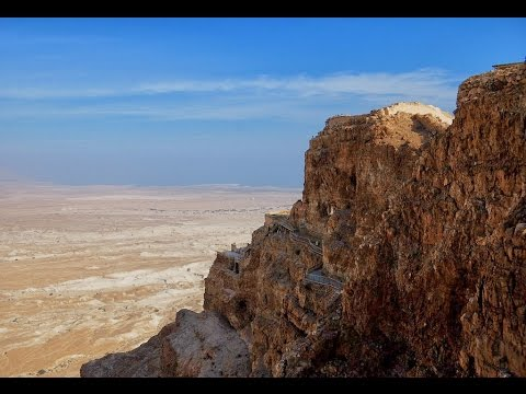 Ruins of King Herod's residence Masada, Israel with Zahi Shaked a licensed tour guide