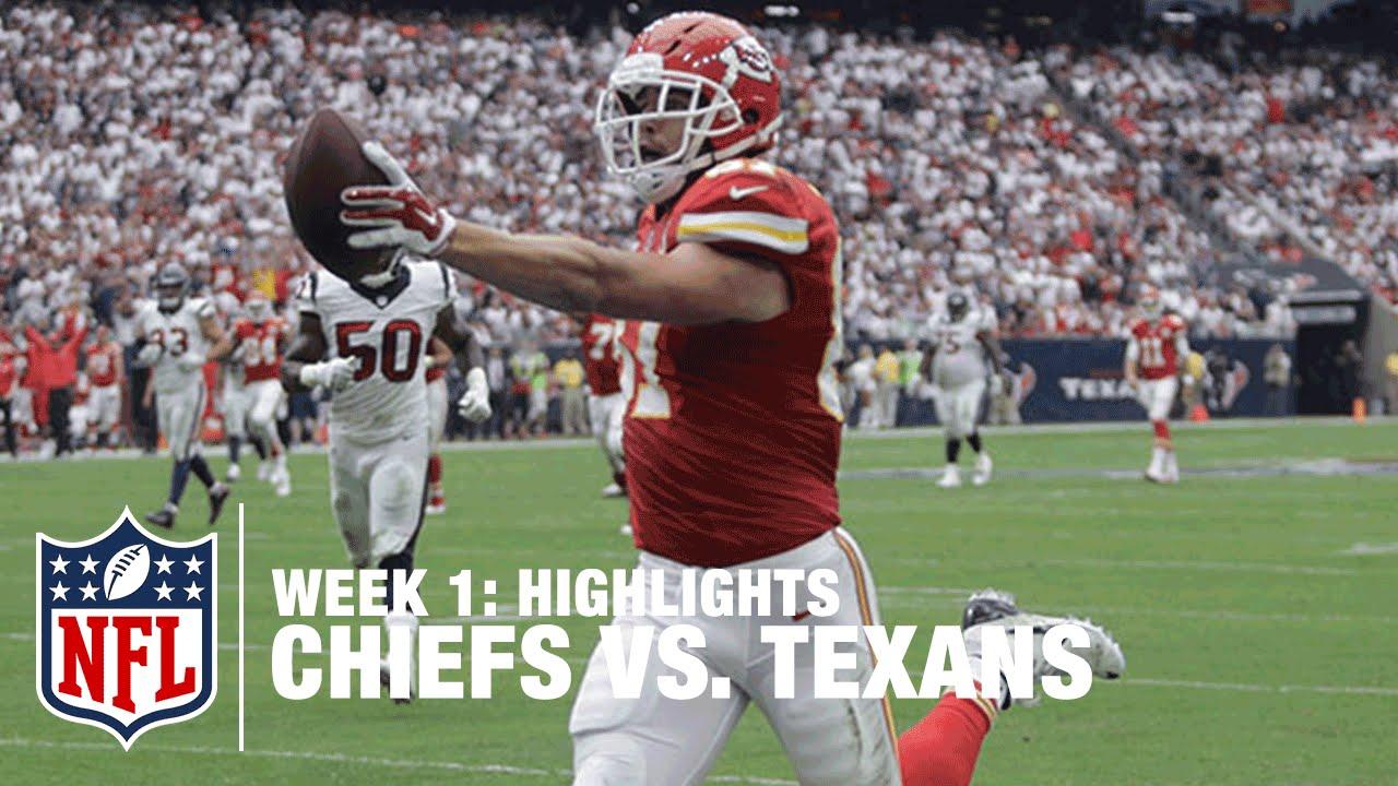e217a3bf Chiefs vs. Texans | Week 1 Highlights | NFL