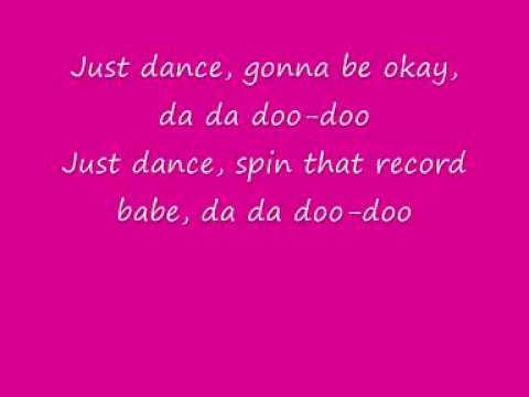 Lady GaGa - Just Dance Lyrics