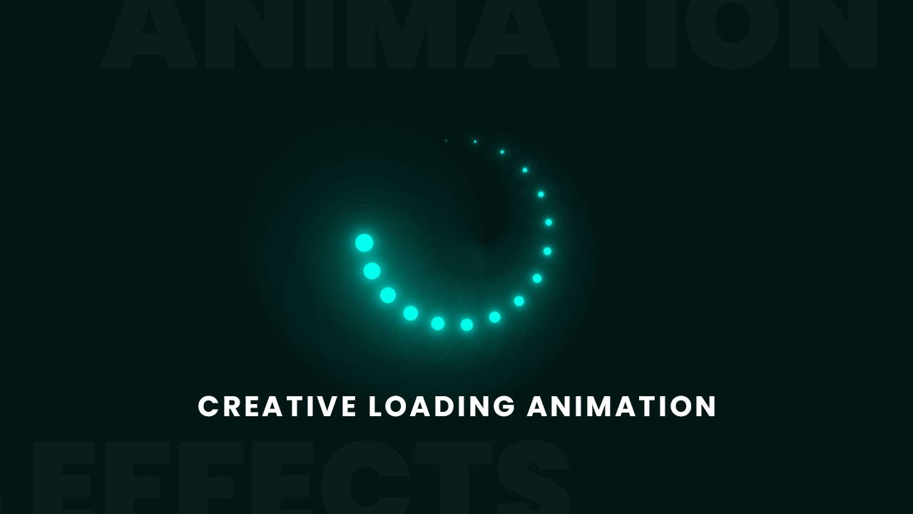 Creative CSS Loading Animations Effects | CSS Animation Tutorial for Beginners