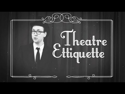 Theatre Etiquette - Magik Children's Theatre