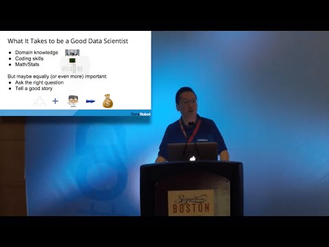 "ODSC East 2016 | Owen Zhang - ""How I Became a Data Scientist"""