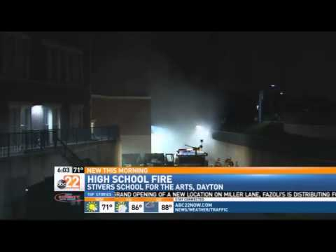 BREAKING NEWS: Stivers High School is Closed after Fire Ignites Inside