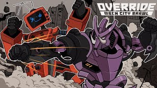 ROCK\'EM SOCK\'EM ROBOTS! (aka the BEST fighting game EVER) | Override: Mech City Brawl