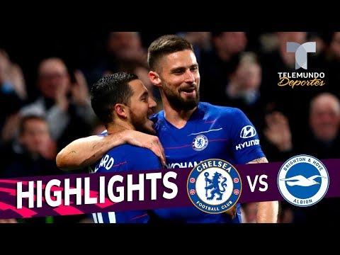 Chelsea vs. Brighton: 3-0 Goals & Highlights | Premier League | Telemundo Deportes