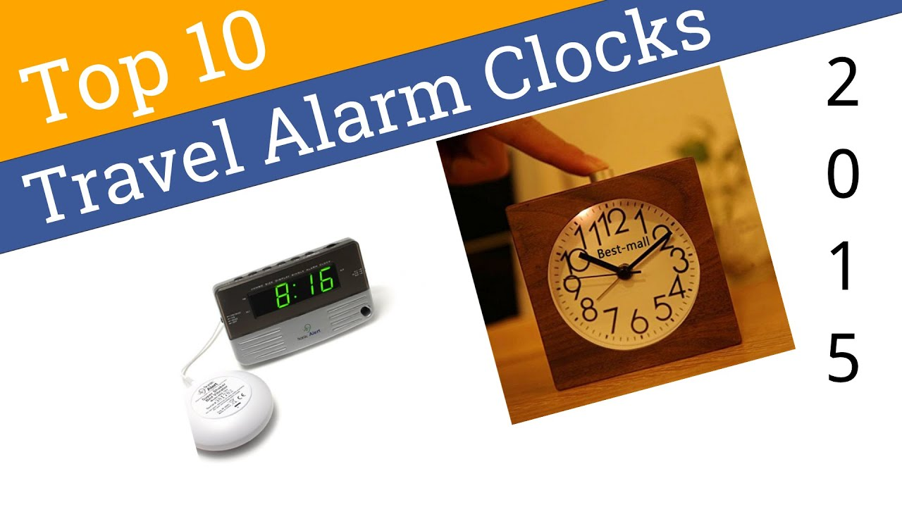 10 best travel alarm clocks 2015 youtube. Black Bedroom Furniture Sets. Home Design Ideas