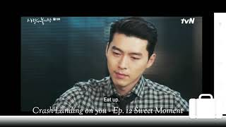 Crash Landing on you - Ep. 12 Sweet Moment