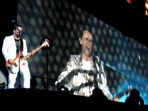 Muse, Vicente Calderón (Madrid) 2010 - Map of the Problematique
