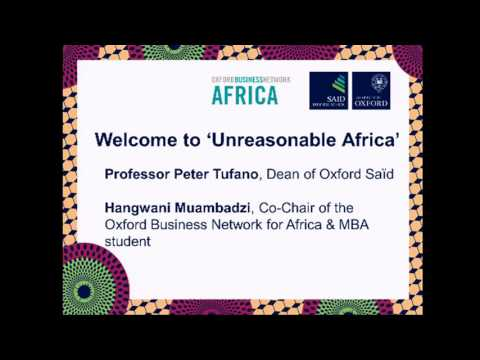Oxford Business Forum Africa 2016
