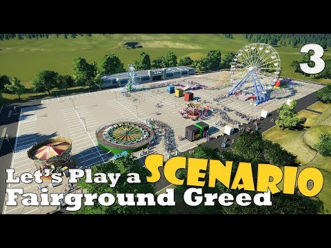 Planet Coaster: Let's Play a scenario - Fairground Greed - Ep. 3 - The grande finale!, or not?!