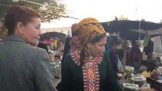 ► Nice Walkaround on the Bazar of Mary / Turkmenistan