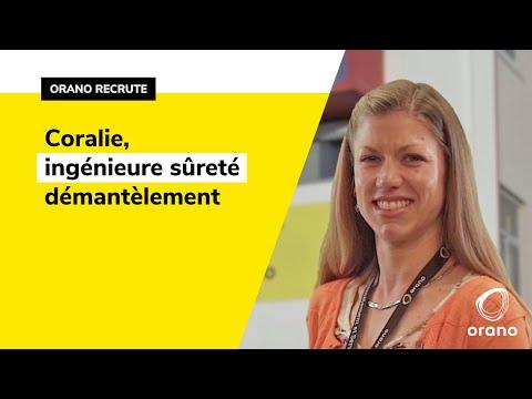 #CMonJob  Portrait de Coralie Marie, Ingénieure sûreté démantèlement Orano DS