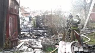 В Орле загорелся дом-памятник на Карачевской улице