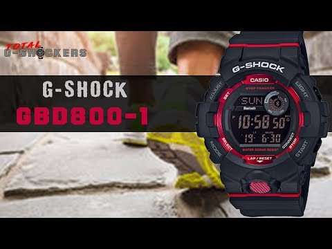 [NEW] Casio G-SHOCK GBD800-1 | Black & Red G Shock G-SQUAD Step Tracker GBD-800 Top 10 Things