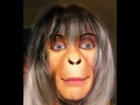 Affenfrau