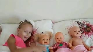 Are You Sleeping Born Doll Nursery Rhyme Song for kids and babies Video For Kids Toys And Milli