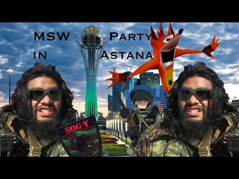 THE KAZAKH REVOLUTION - MSW Party in AstanA