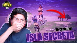 WE ARRIVE TO THE SECRET ISLAND OF FORTNITE WITH THE CART SneyGG