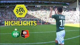 AS Saint-Etienne - Stade Rennais FC (2-2) - Highlights - (ASSE - SRFC) / 2017-18