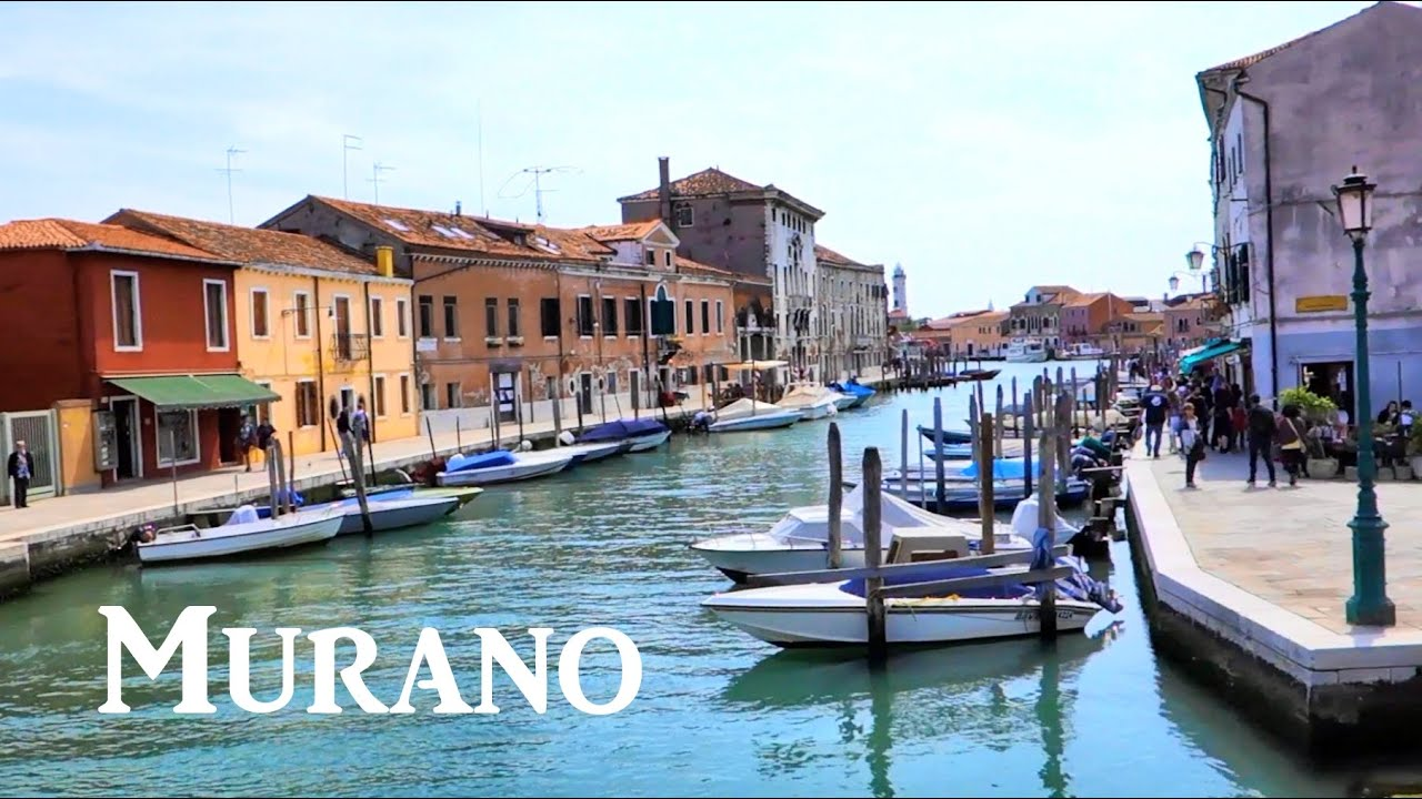 Our visit to Murano Italy near Venice  Island of glass art  YouTube