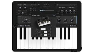 AudioKit FM Player: Classic DX - Official Video. Free DX7 inspired App by Matthew Fecher