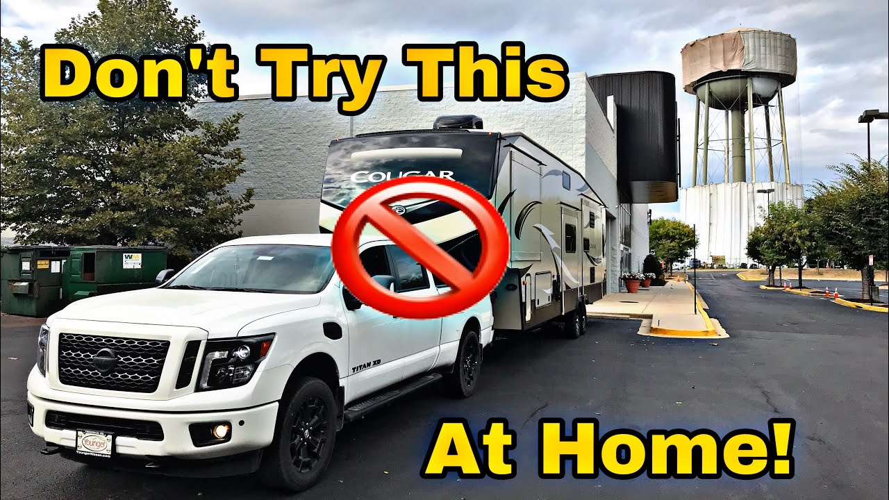 Is The 2019 Nissan Titan Xd Capable Enough To Tow A Fifth Wheel Youtube