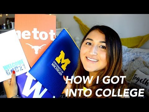 HOW I GOT INTO THE UNIVERSITY OF MICHIGAN! (Ross School of Business)