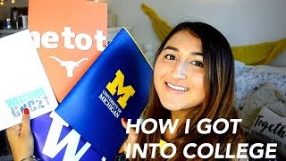 HOW I GOT INTO THE UNIVERSITY OF MICHIGAN! (Ross School of Business) thumbnail