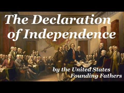 Declaration of Independence - FULL Audio Book - by Founding Fathers of the United States