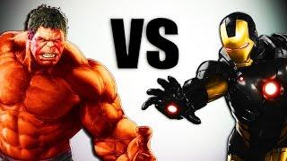Красный Халк VS Железный Человек