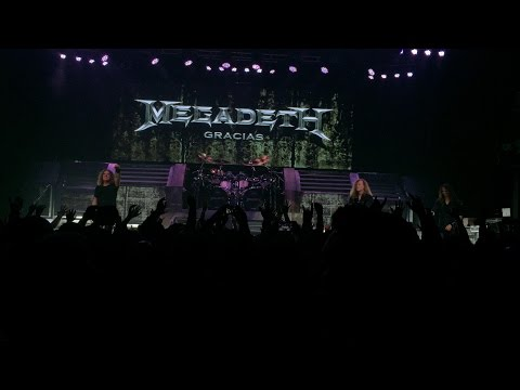 "MEGADETH ""Live in Silver Spring MD//May./5/2016 Dystopia Tour"