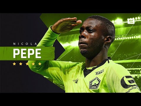 Nicolas Pepe - Sensational Player - Crazy Skills, Speed, Goals & Assists - 2019 | HD